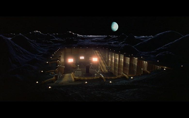 scene on the moon obelisk - space odyssey-1