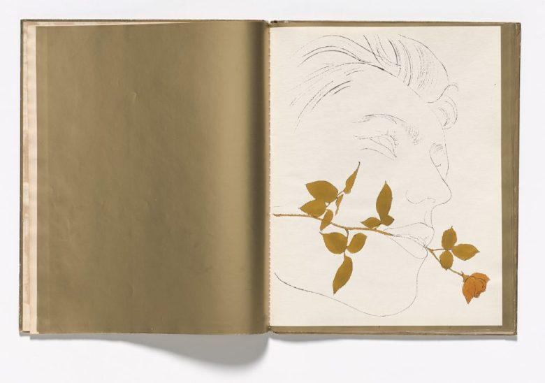 Andy Warhol gold