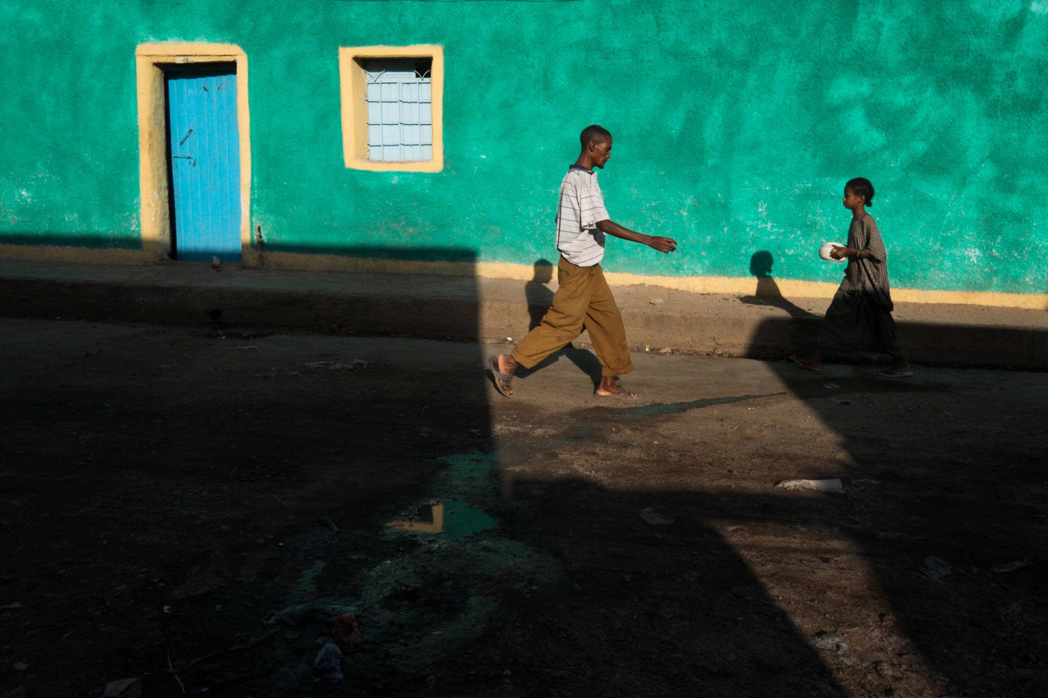 Ethiopia by Yves Vernin street photography color 15