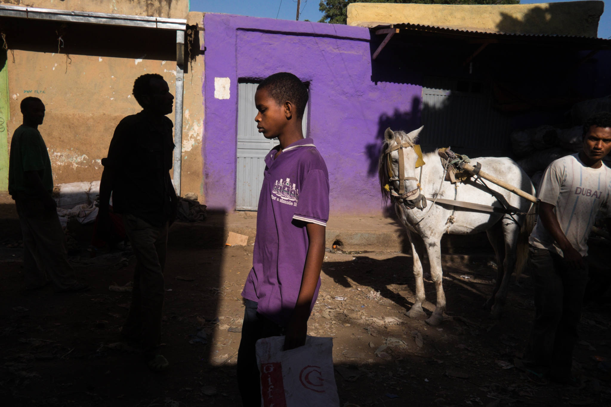Ethiopia by Yves Vernin street photography color 22