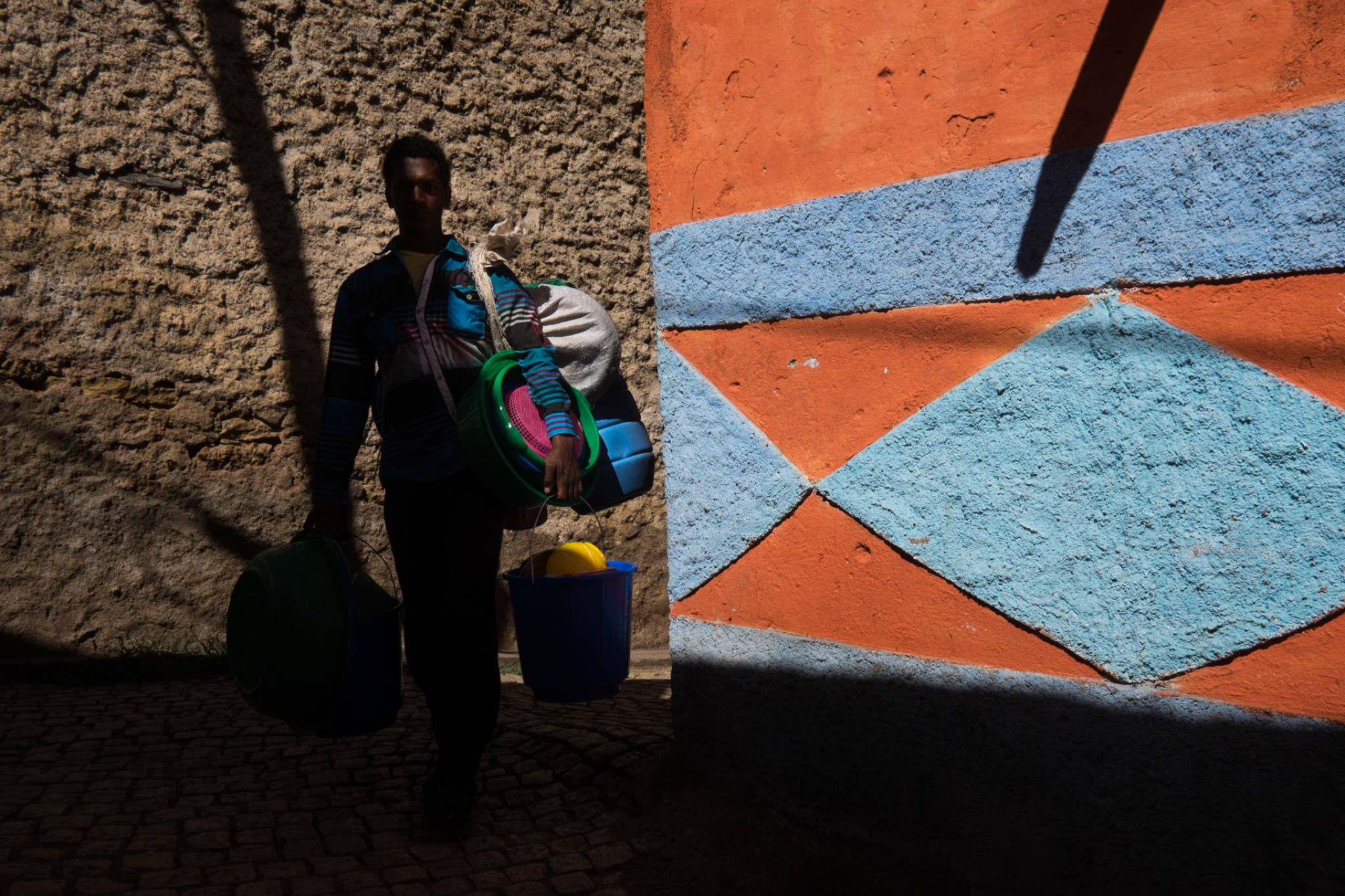 Ethiopia by Yves Vernin street photography color 27