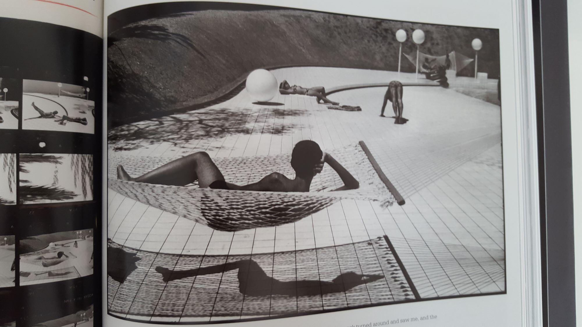 MARTINE FRANCK - contact sheet- boy by pool2