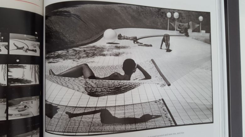 MARTINE FRANCK - contact sheet- boy by pool2
