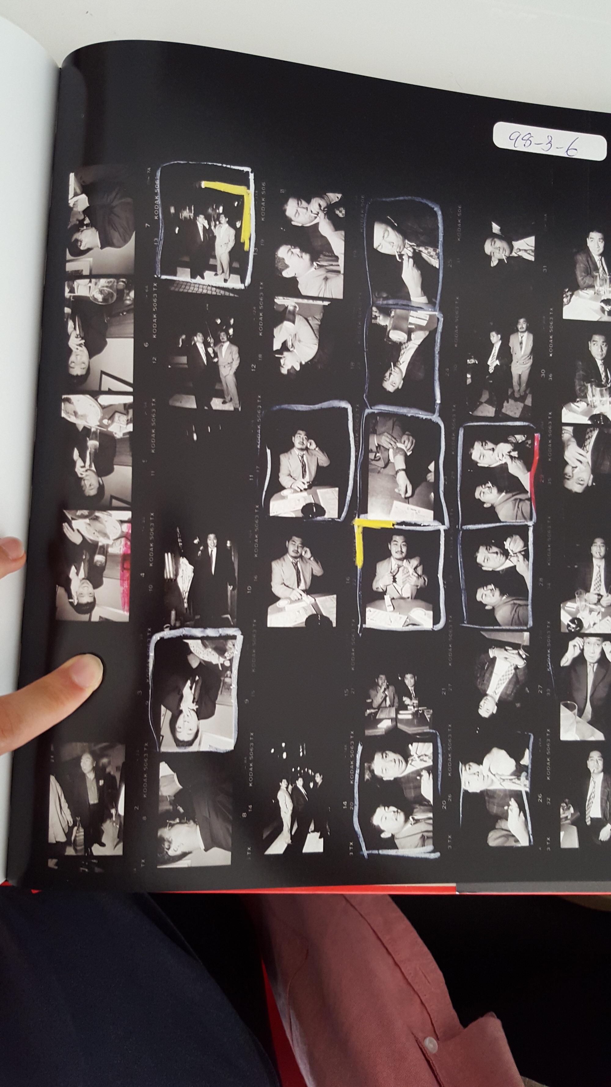 bruce gilden - yakuza cigarette contact sheet1