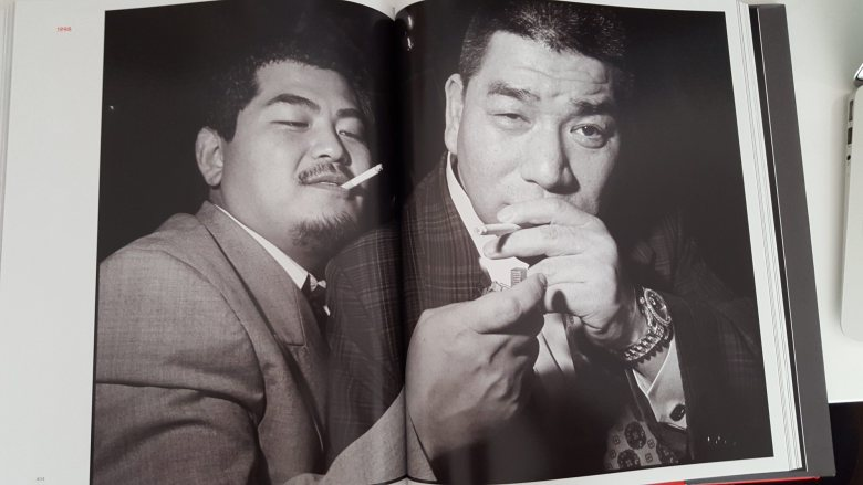 bruce gilden - yakuza cigarette contact sheet3