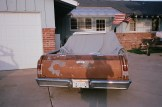 driveway and old chevorlet car eric kim only in america contact sheet3