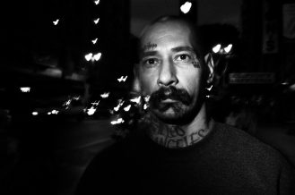hearts eric kim street photography black and white neck tattoo downtown la