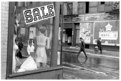 USA. New York City. 1957. Orchard Street.