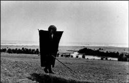 IRAN. Rasht. 1956. Kurdish shepard.