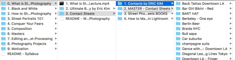 street photography starter kit directory preview