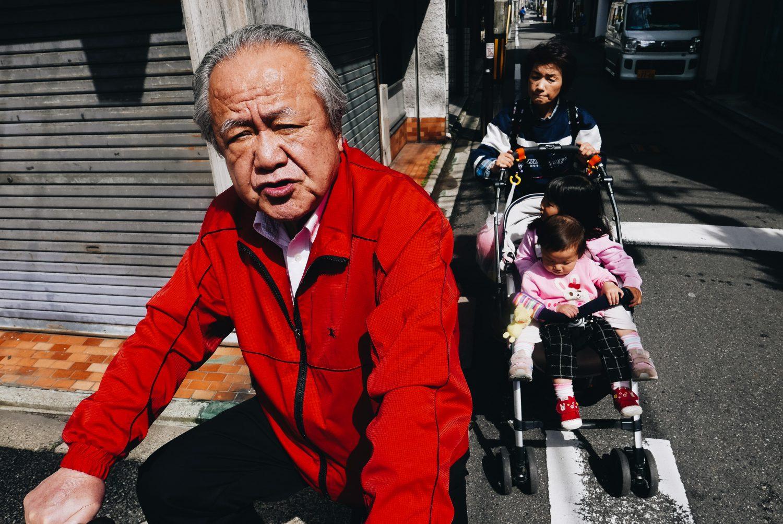 Street corner Kyoto