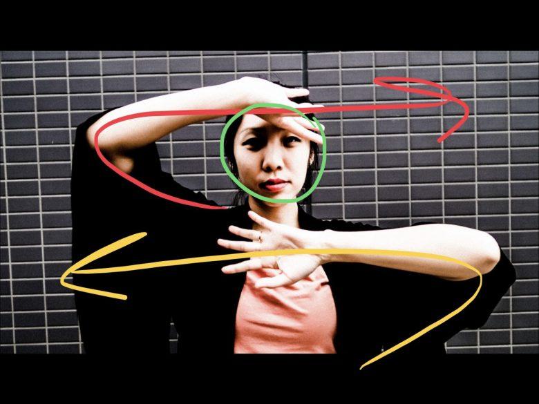 Cindy hand gestures