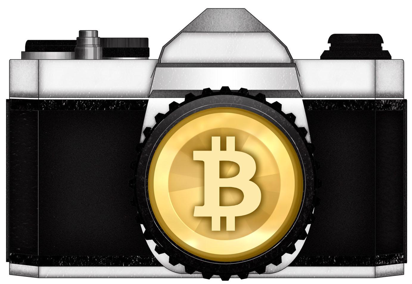 bitcoin camera photography money