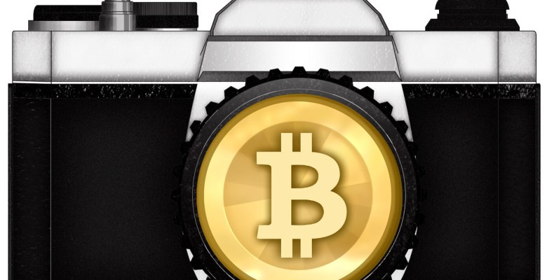 bitcoin camera photography money