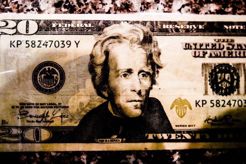 Andrew Jackson 20 dollar bill