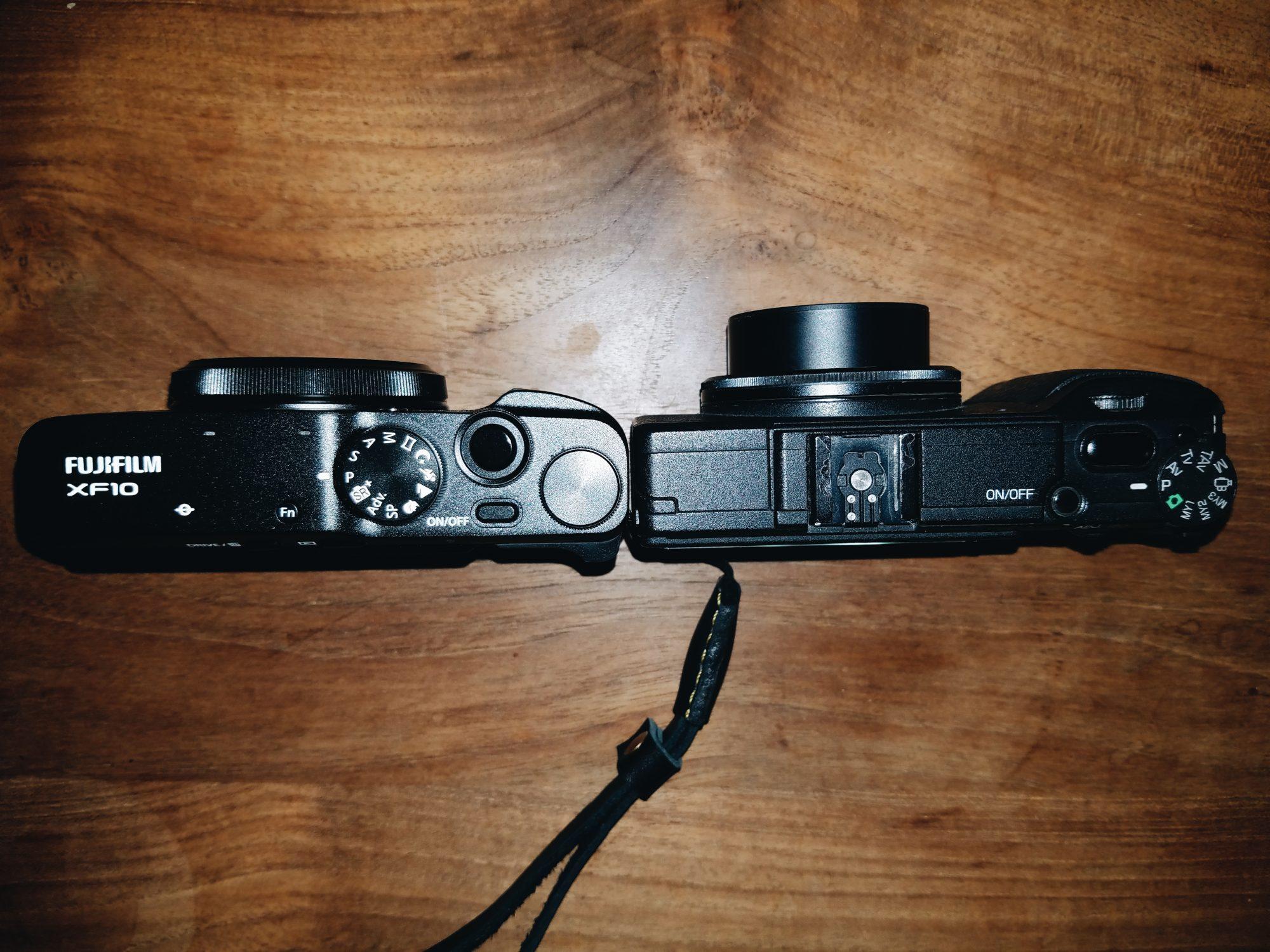 Fujifilm XF10 vs Ricoh GR II Review