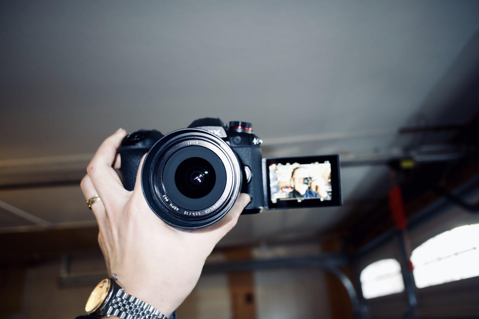 selfie vlog