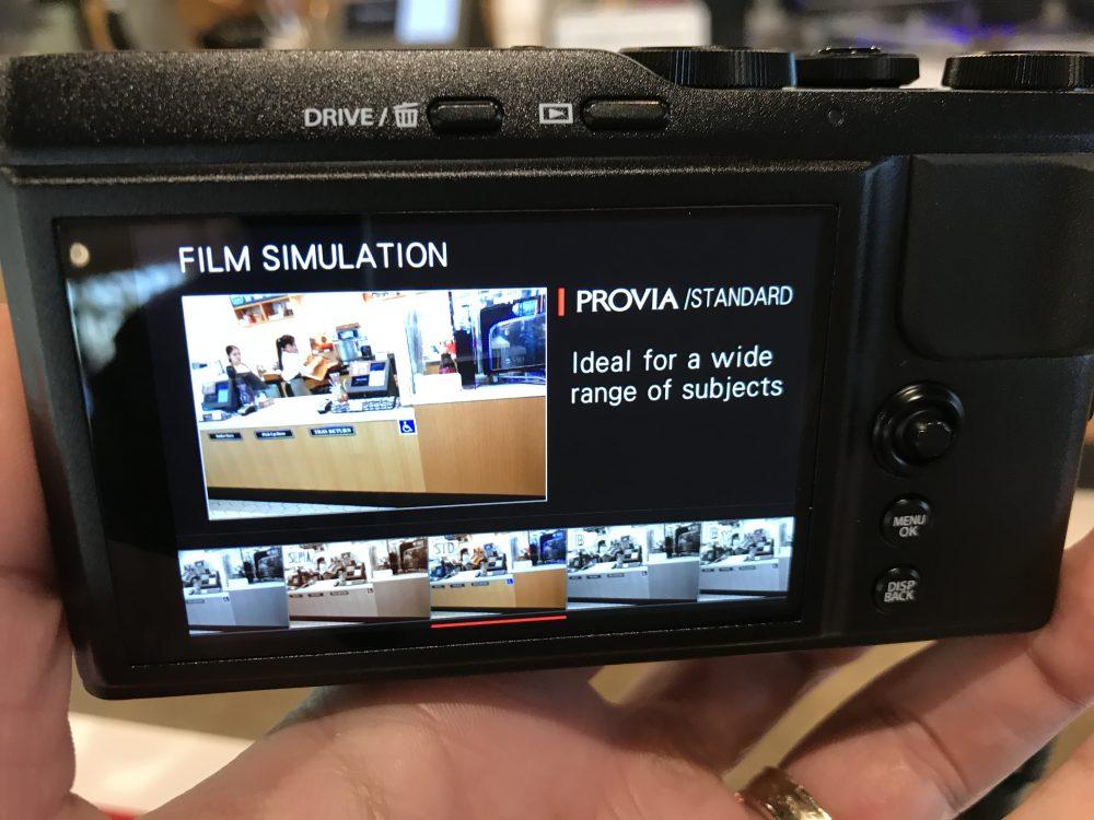 Film simulation xf10