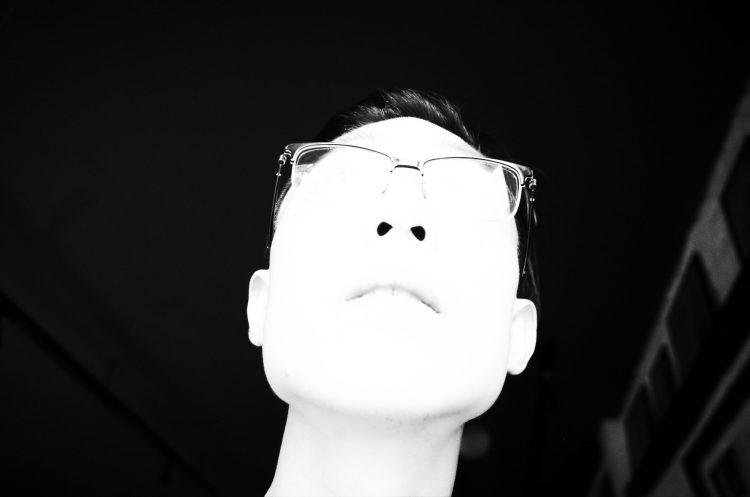 Eric Kim white selfie