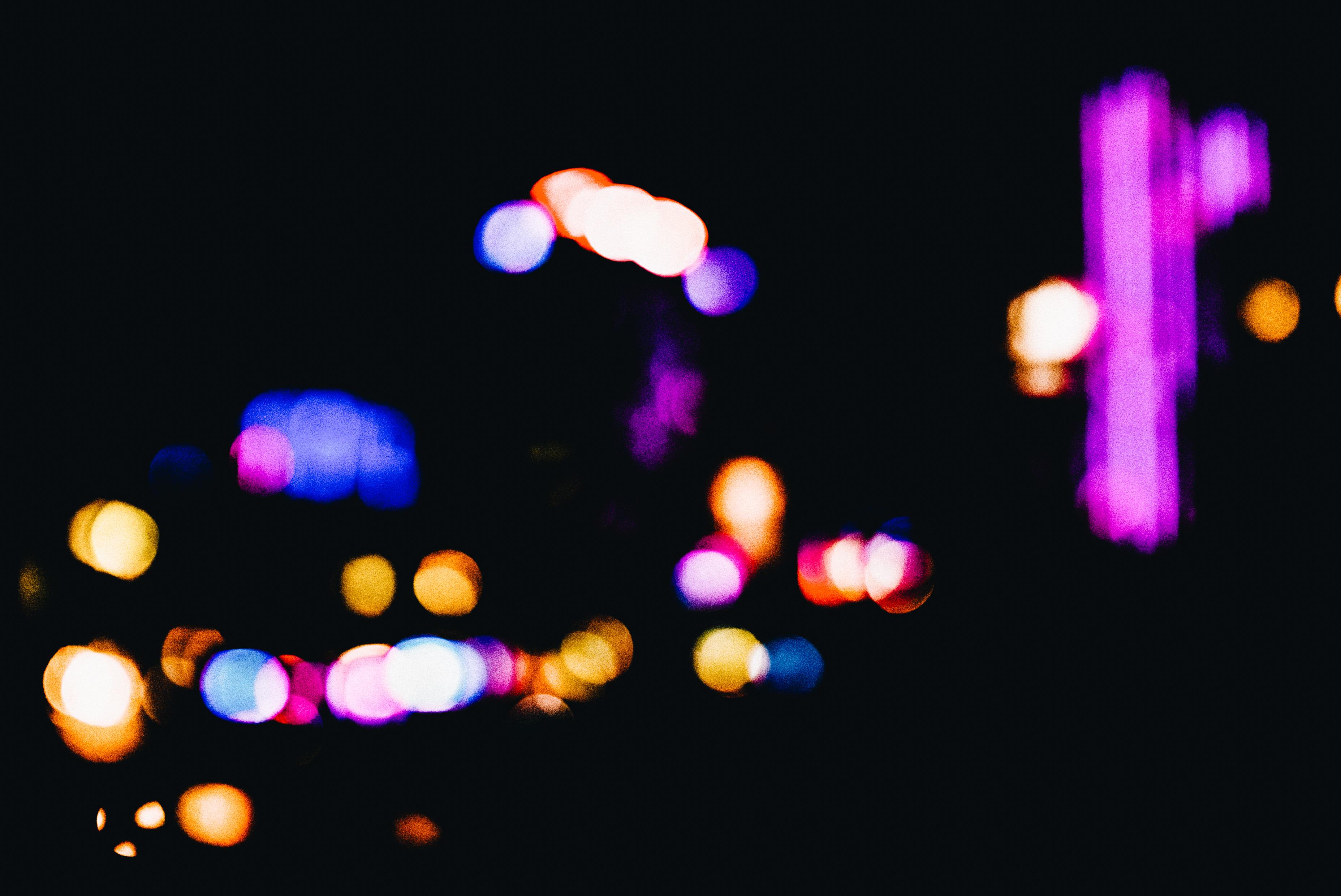 saigon lights bokeh
