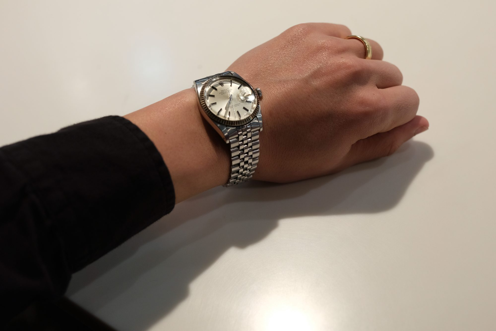 Rolex watch time