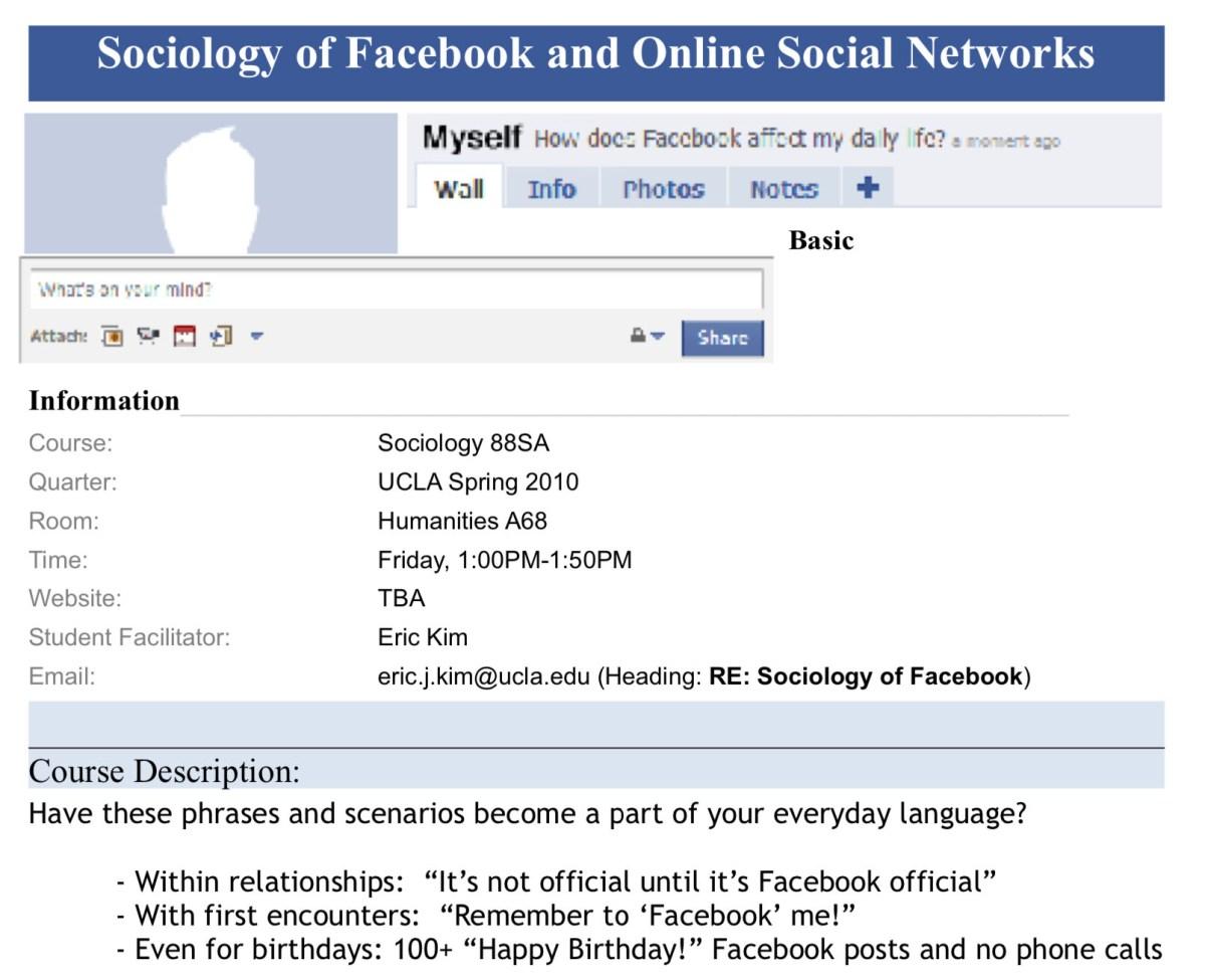 sociology of facebook copy