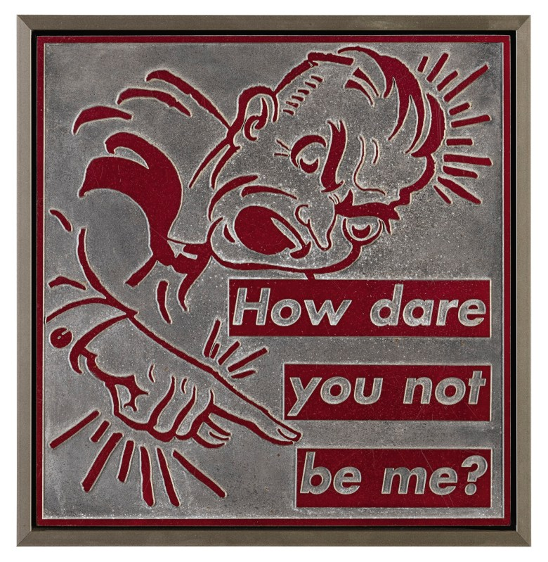 """Barbara Kruger: """"How dare you not be me?"""""""