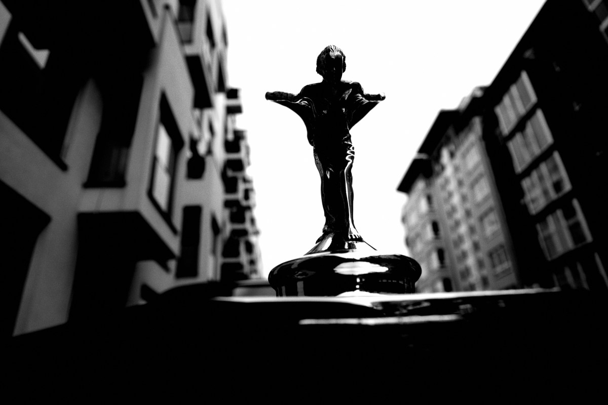 The Spirit of Ecstasy. Berlin, 2019 #rollsroyce