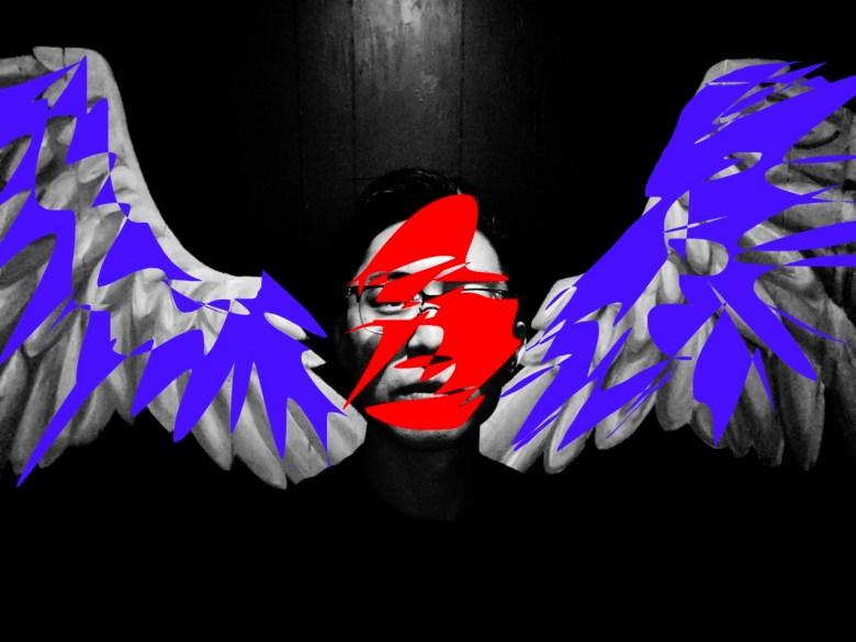 Eric wings selfie