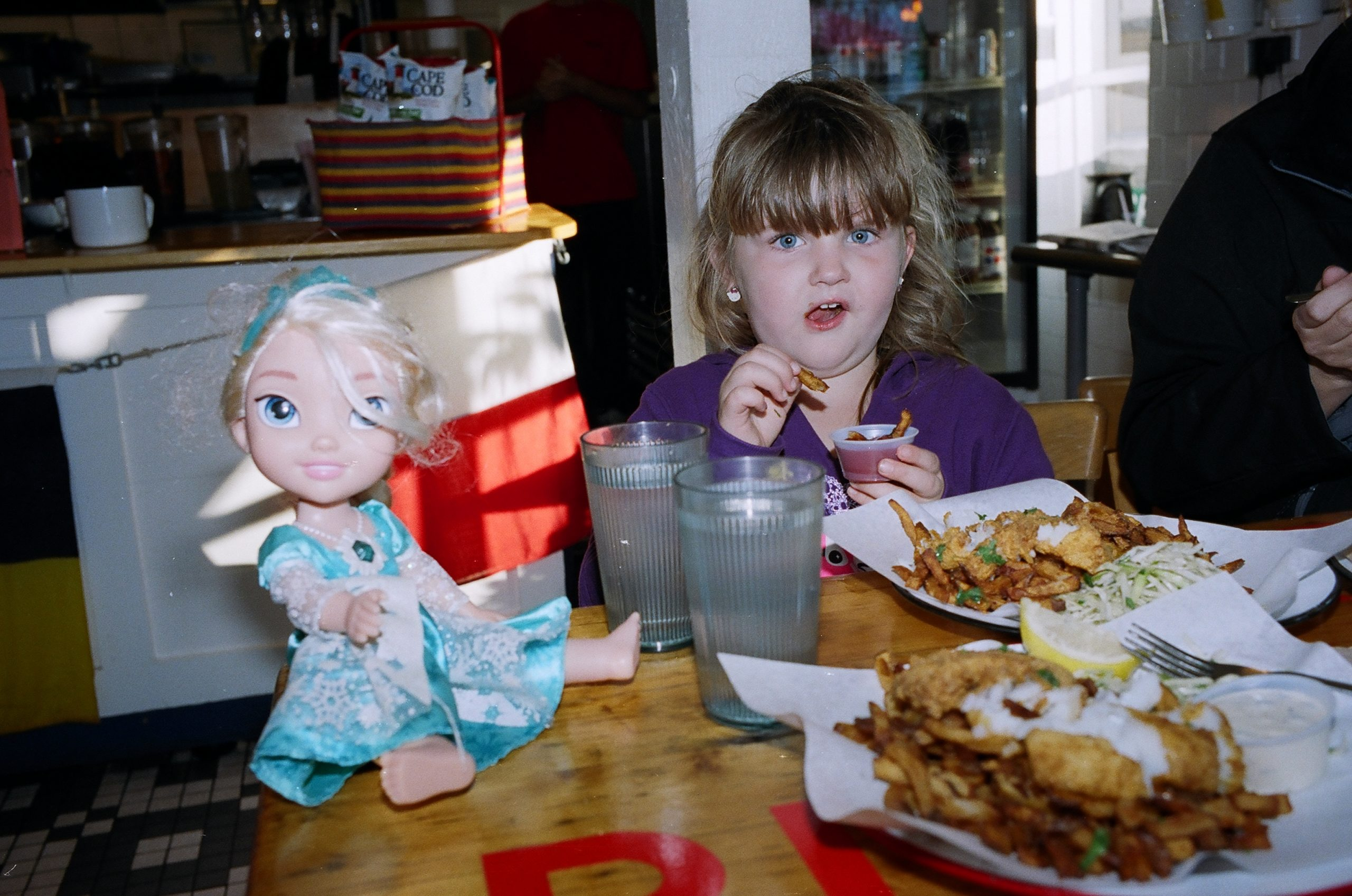 child French fries overfat