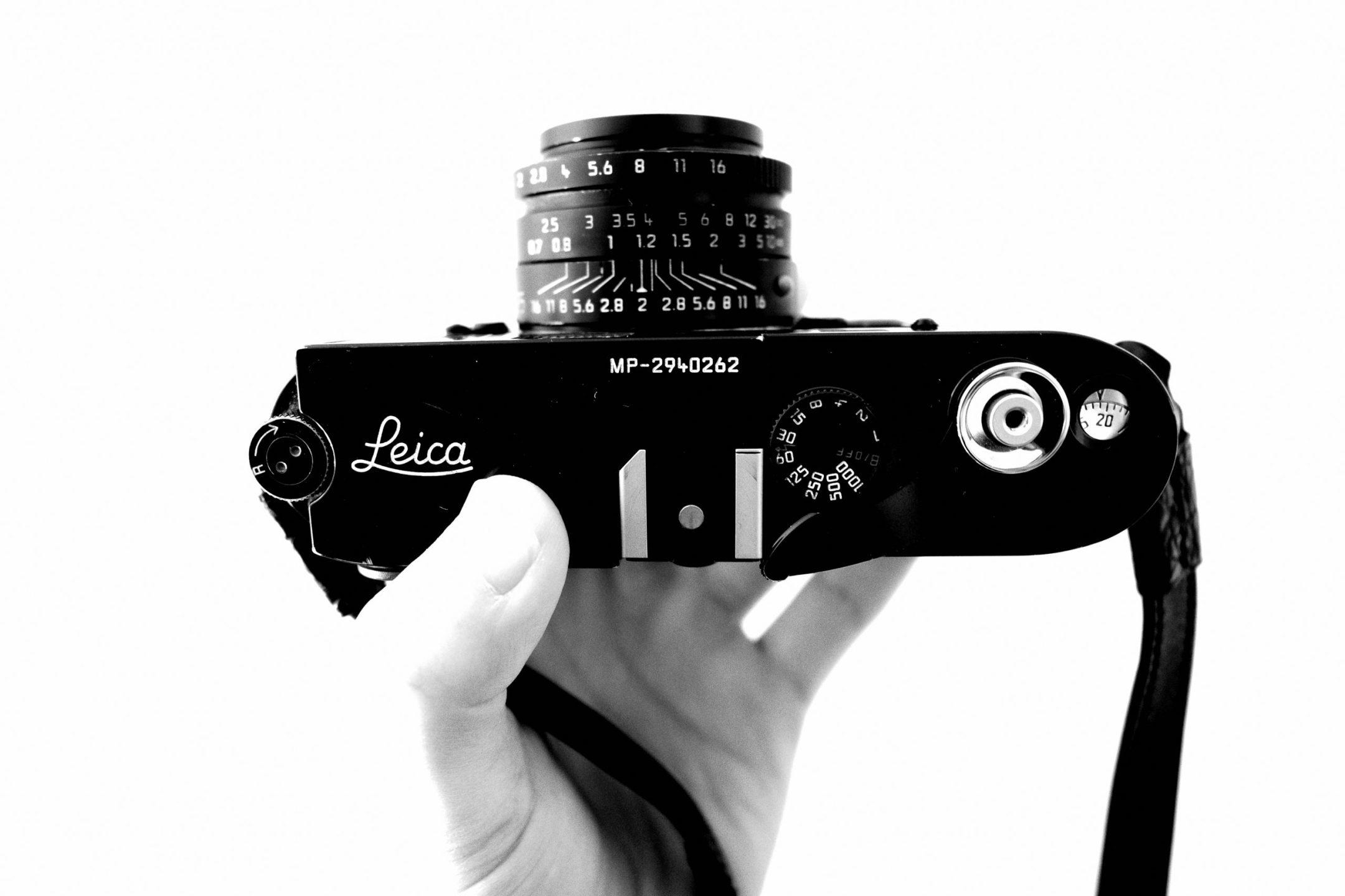 Flim Leica MP (black paint) with Leica 35mm f/2 Summicron ASPH