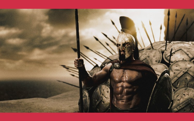 The Spartans had faith in King Leonidas, even going to their certain death