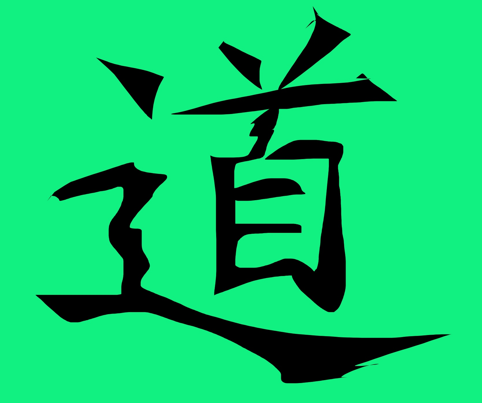 taoism green sketch