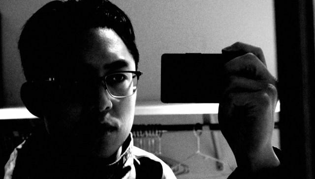 Eric Kim Ricoh selfie