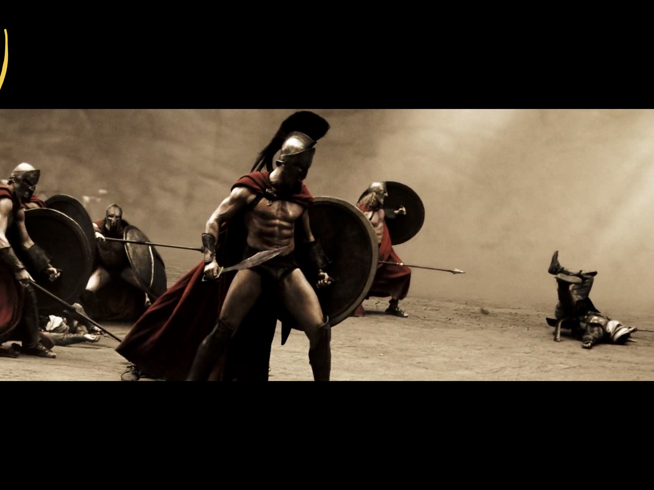 King Leonidas and the 300