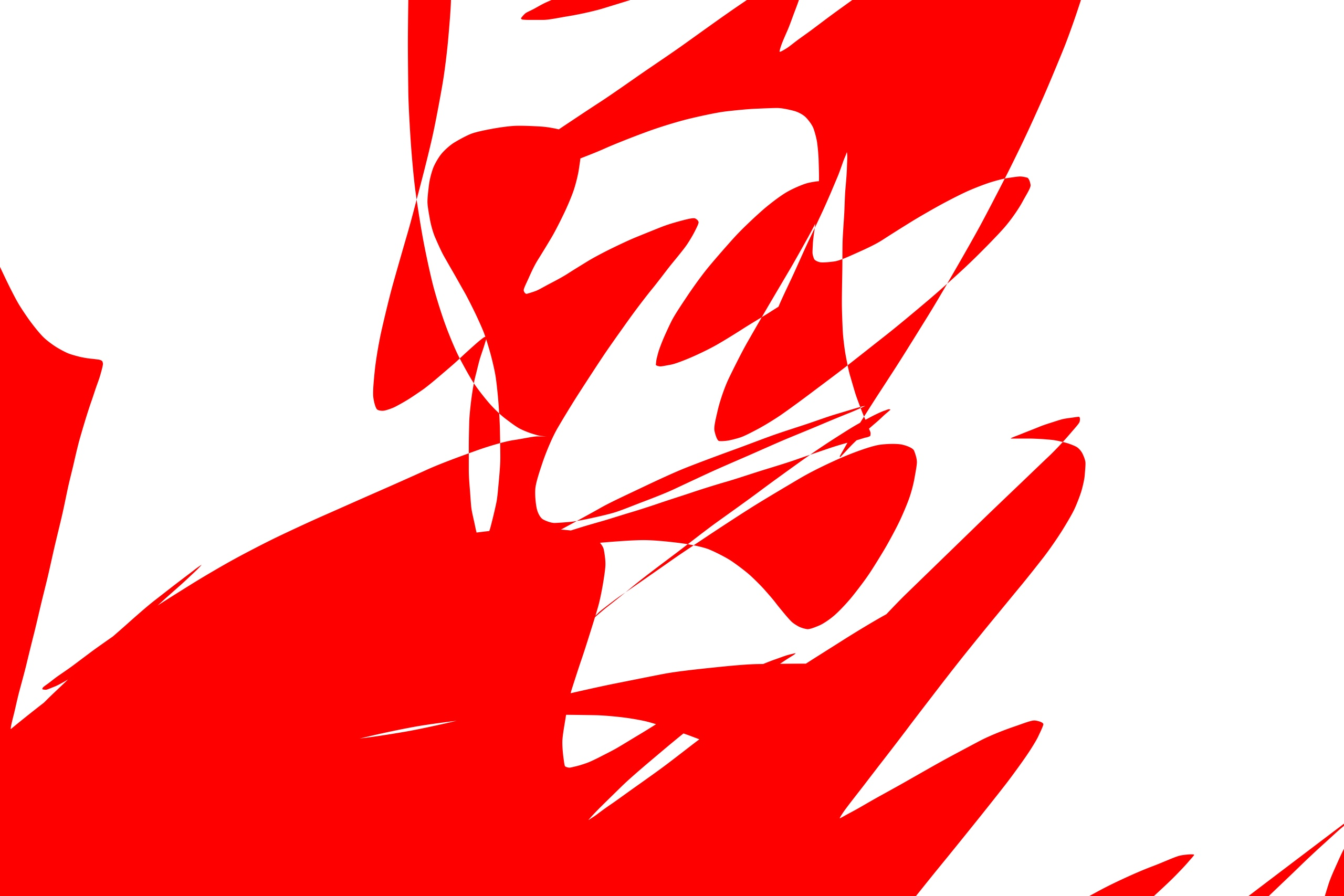 selfie abstract red and white
