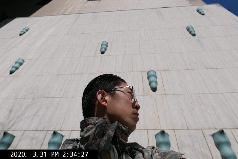 Eric Kim selfie side