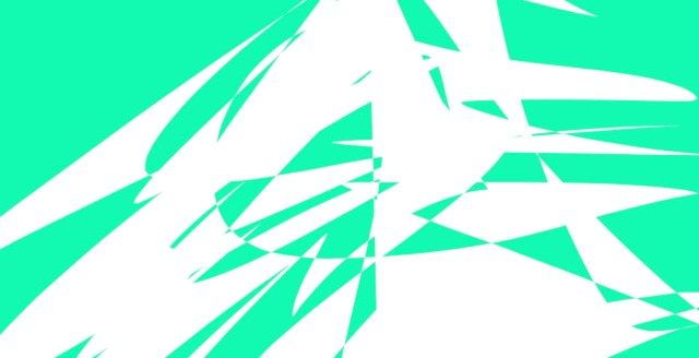 green and white abstract ERIC KIM