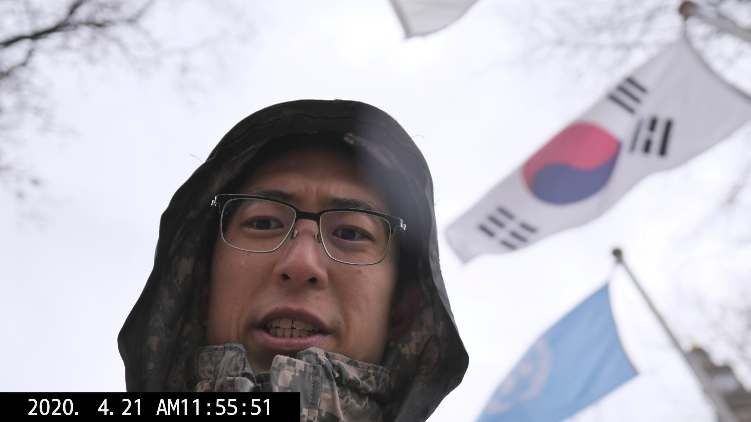 Ekorean flag RIC KIM covid photography providence 00022