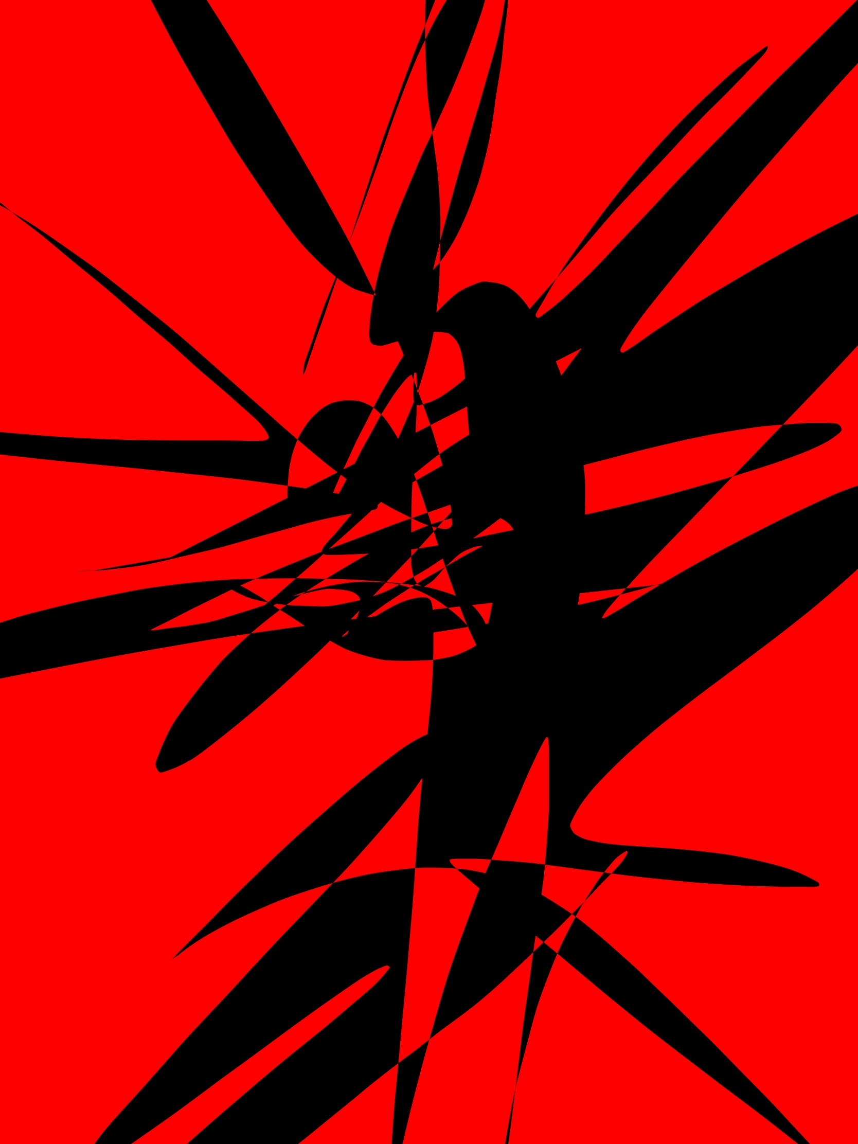 Red black abstract