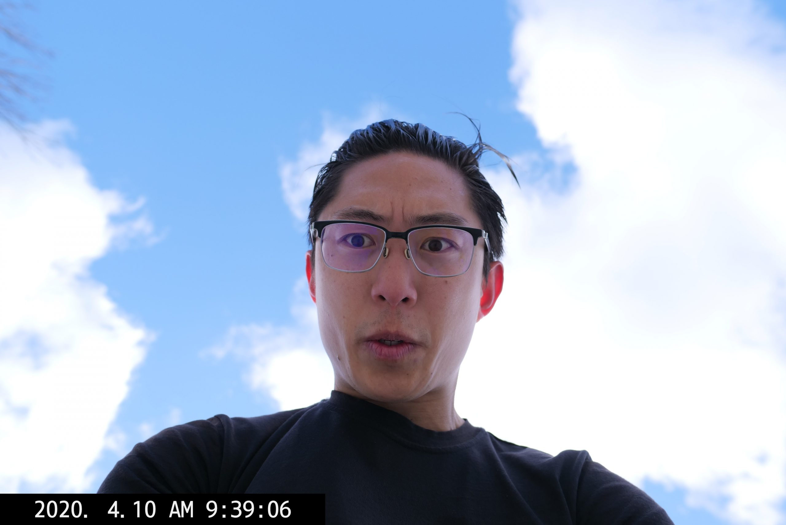 win ERIC KIM selfie