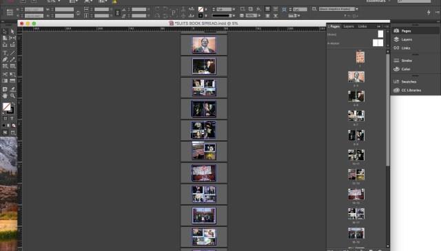 Adobe Indesign suits eric