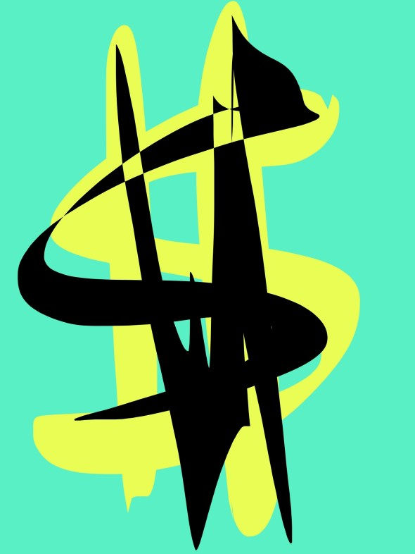 Money abstract