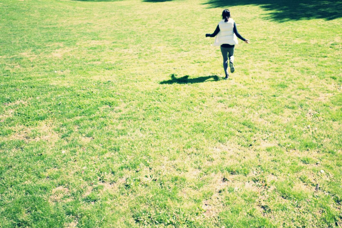 Cindy running
