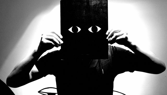 eye black and white ERIC KIM