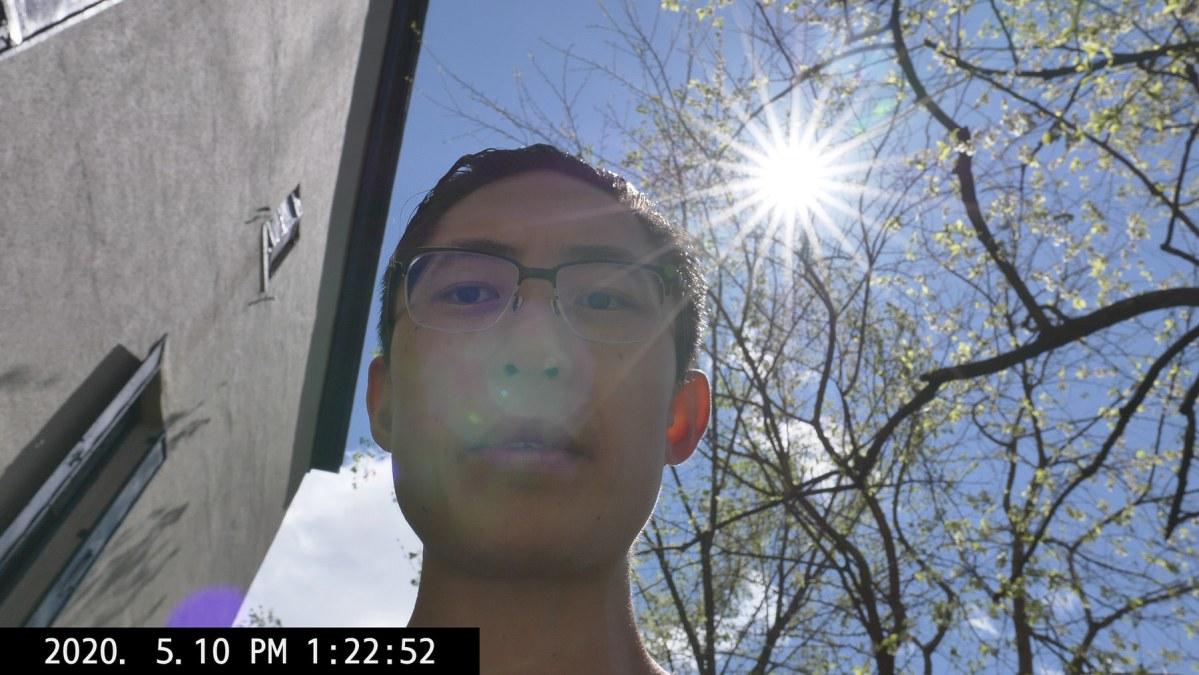 selfie light ERIC KIM lumix covid 19 2020-09