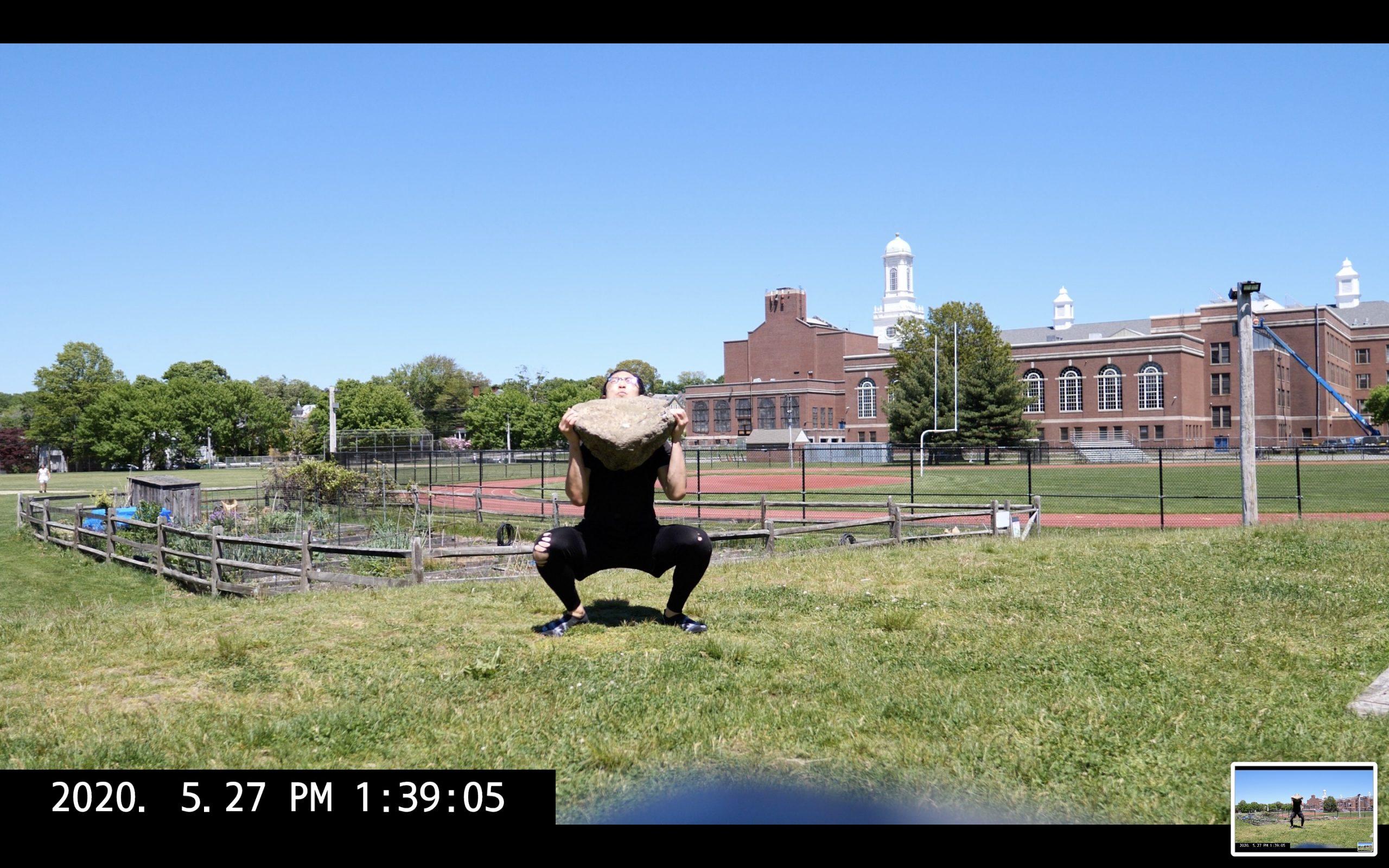 big rock squat