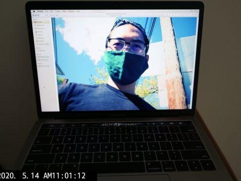 laptop ERIC KIM KIM selfie