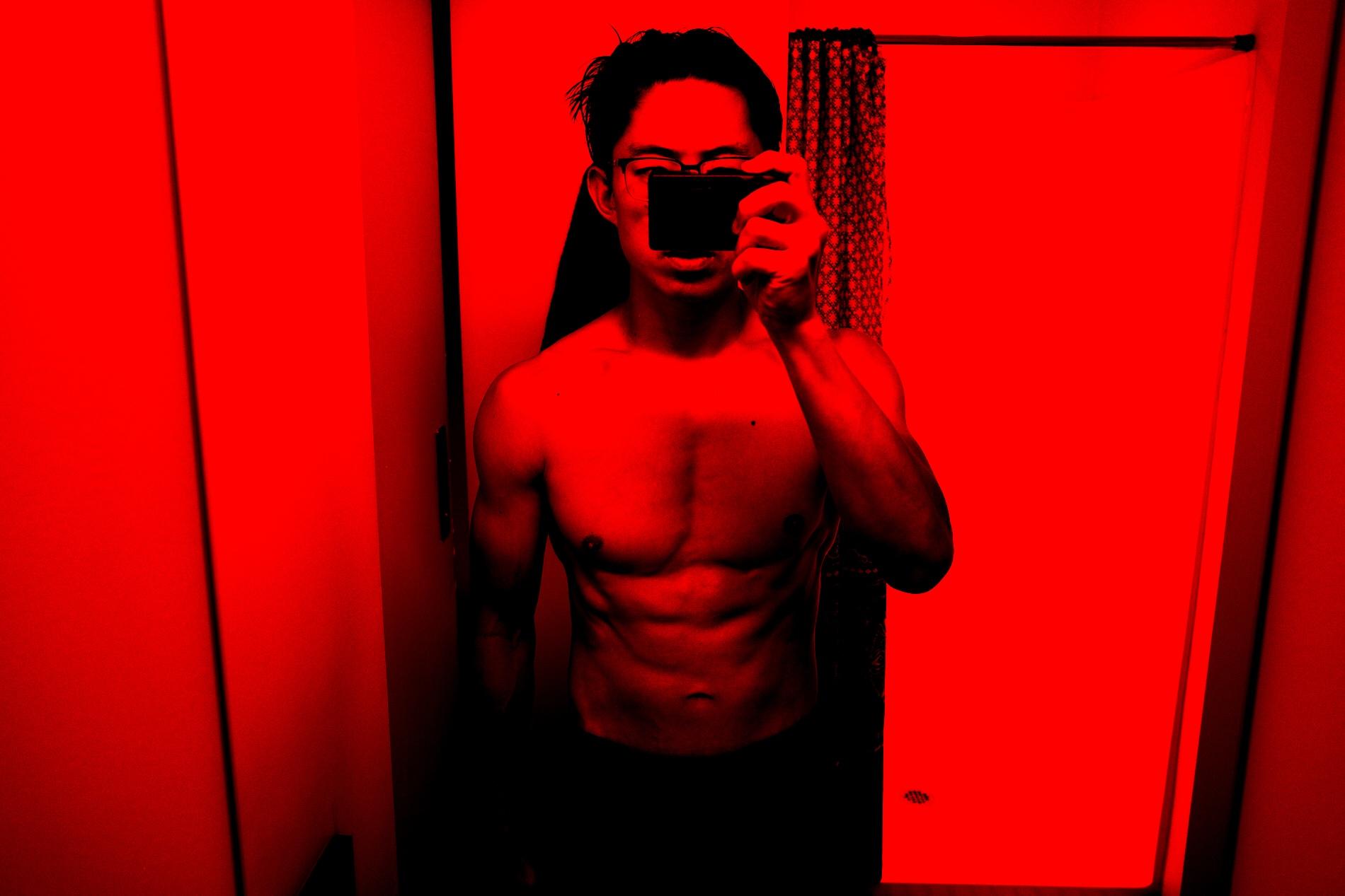 Front. Eric kim flex