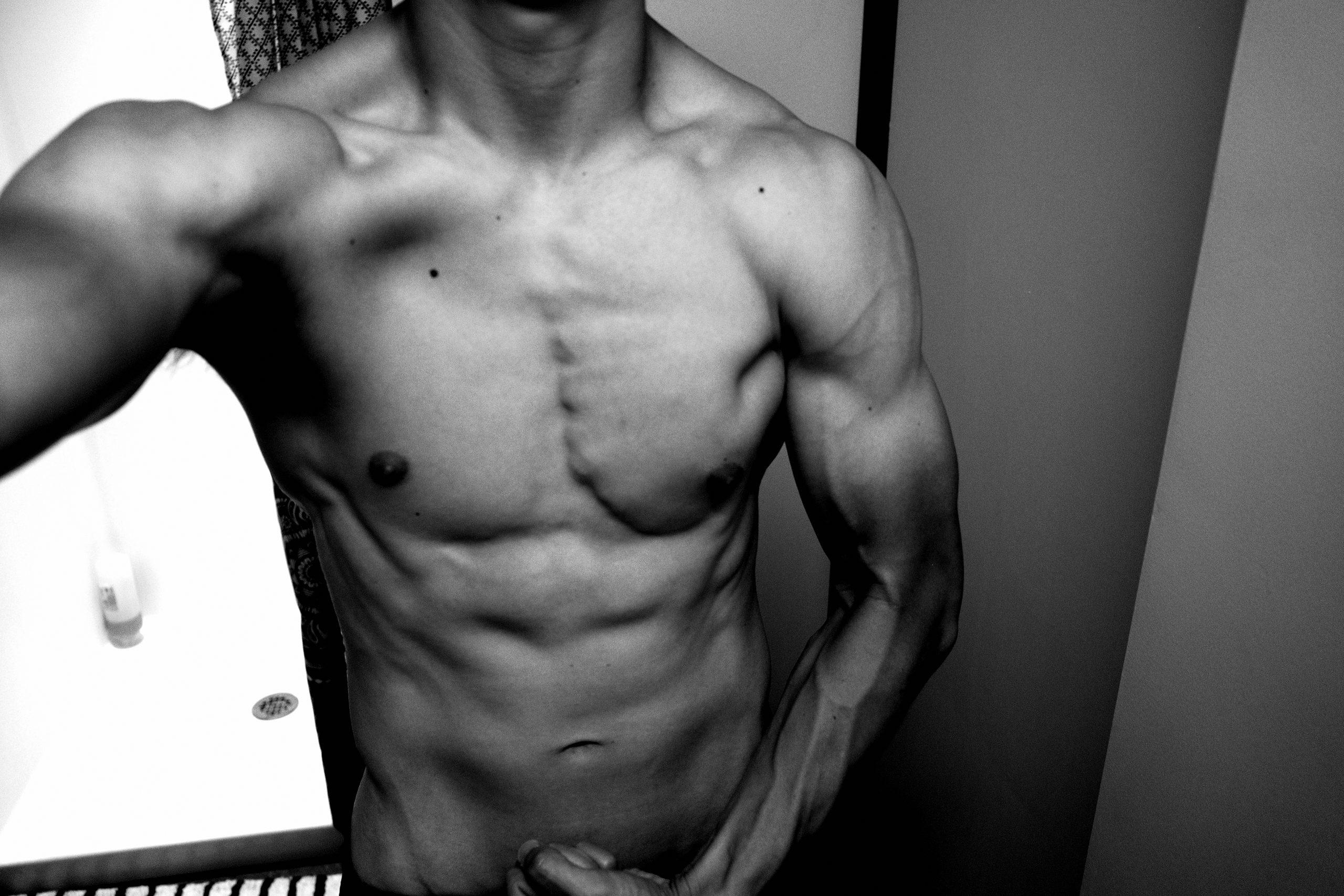 flex ERIC KIM muscle